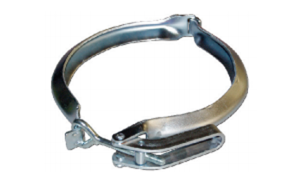 Picture of Vactor® Style Flat Flange Quick Clamp w/ Trimline Handle
