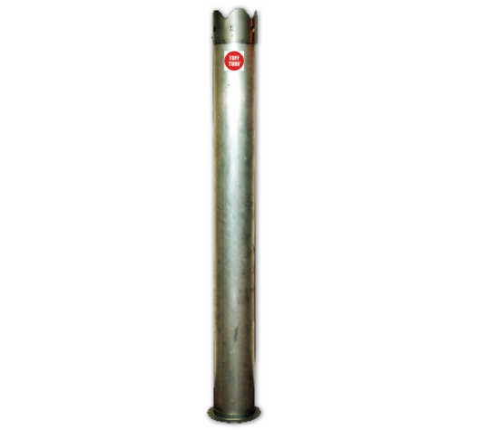 Picture of Vactor® and Vac-Con® Style Catch Basin Tube w/ Riveted Steel Ends (dig tube)