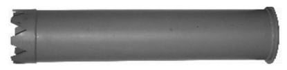 "Picture of 8"" Steel Catch Basin Tube (dig tube)"