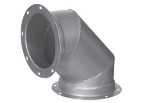 Picture of 90˚ Steel Pipe Flange