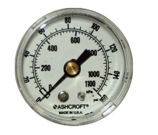 Picture of 0-160 PSI Pressure Gauge