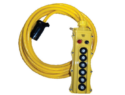 Picture of 7-Button Pendant Control w/VAC Relief