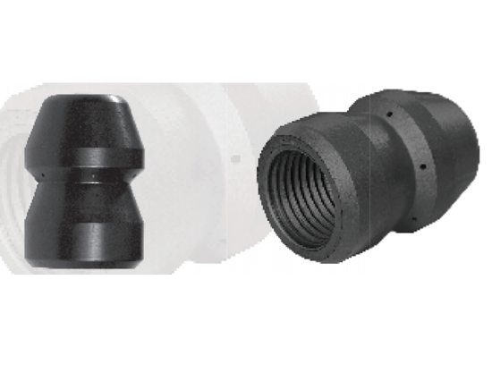 """Picture of 1/2"""" Button Style Short Nozzle"""