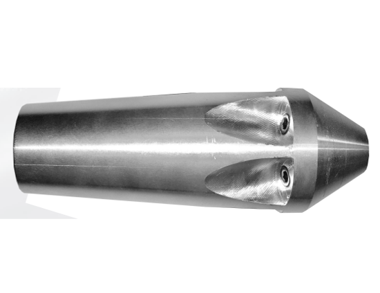 "Picture of 1"" Aluminum Grease Nozzle"