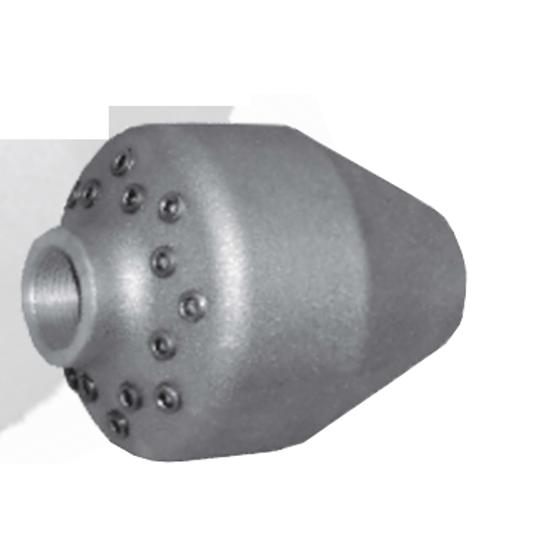 Picture of Dual-Degree Aluminum Sand and Sludge Nozzle