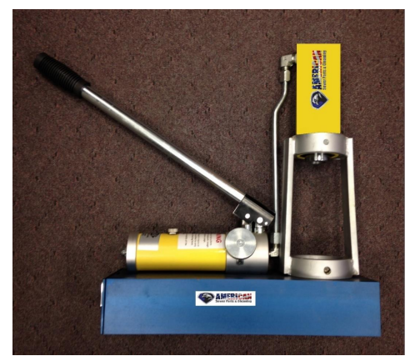 "Picture of Brutus Swage Machine – ¼"" to ½"" NPT"