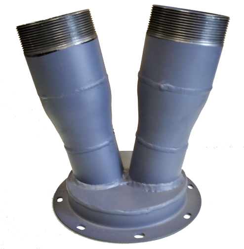 Picture of Steel Flange to Toe (s)