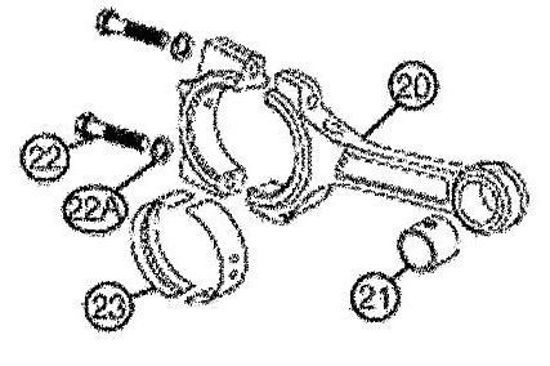 Picture of D65-20 -  Crosshead Link– Replacement Parts